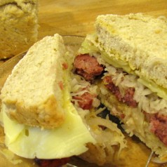 Beer Bread Sandwiches