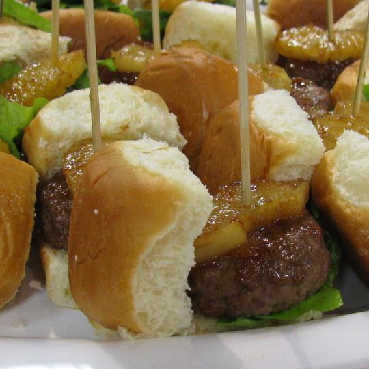 Sweet Hawaiian Mini Burgers
