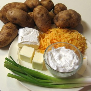 party potatoes - ingredients
