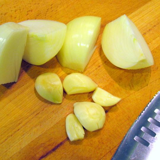 carnitas - vegetables