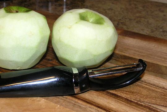 Apple Pie Bites - Peeled Apples