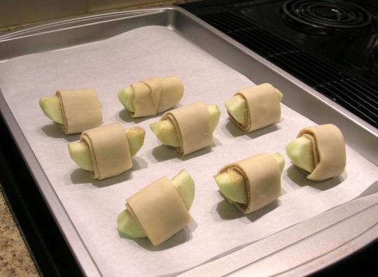 Apple Pie Bites - Rolled