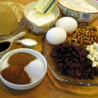 Everything Cookies - ingredients