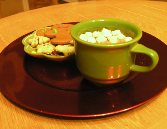 Crock Pot Hot Chocolate - Enjoy!