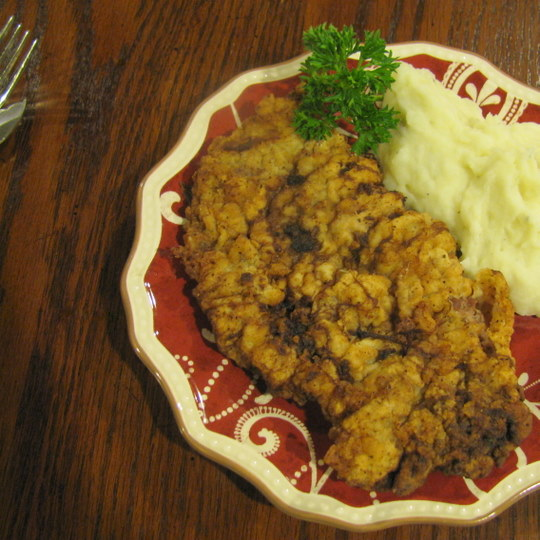 Chicken Fried Deer Steaks - Final