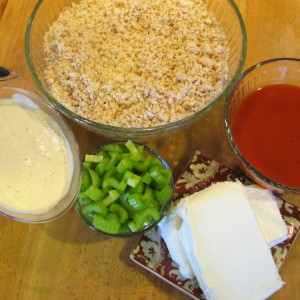 Buffalo Wing Dip - ingredients