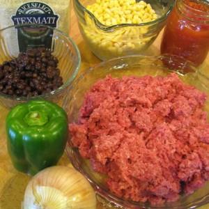 Texas Jambalaya - Ingredients