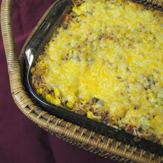 Texas Jambalaya - baked