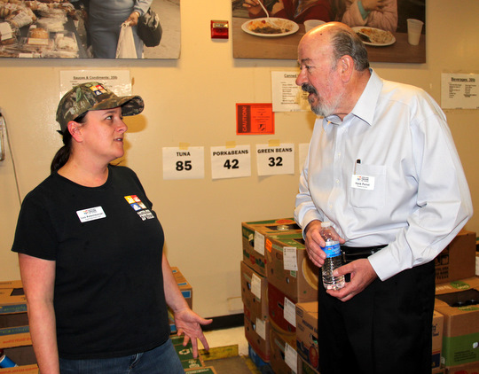 Hank Perret, Capital Area Food Bank