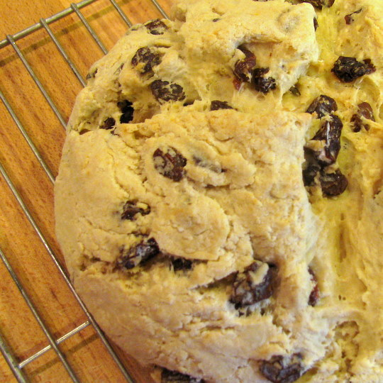 Irish Soda Bread-Baked