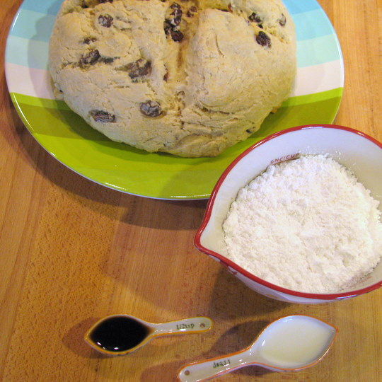 Irish Soda Bread-Glaze