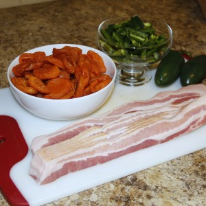 Bacon-Wrapped Apricots: Recipe Ingredients