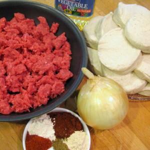 Empanadas - ingredients