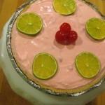 Cherry Limeade Ice Box Pie - final