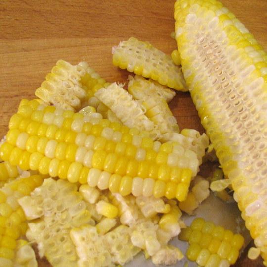 Corn Salsa - kernels