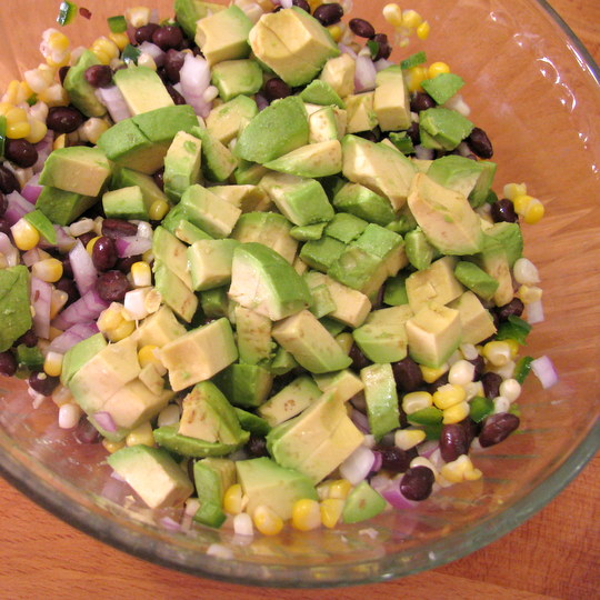 Corn Salsa - avocado