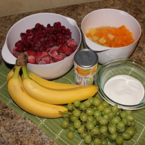 Fruit Cup Ingredients