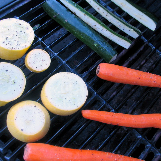 Grilled Veggies - 4