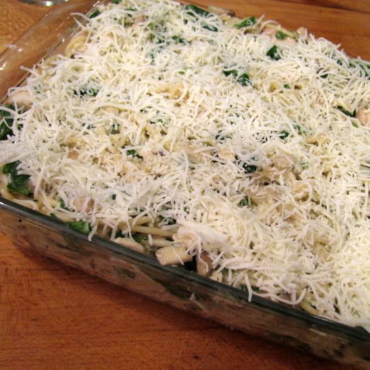 Chicken Spaghetti - Oven ready