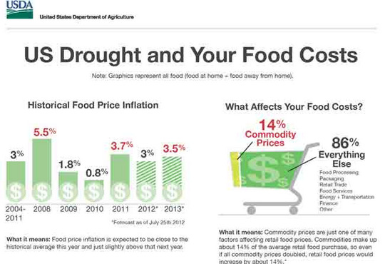 Food Prices - USDA Infographic