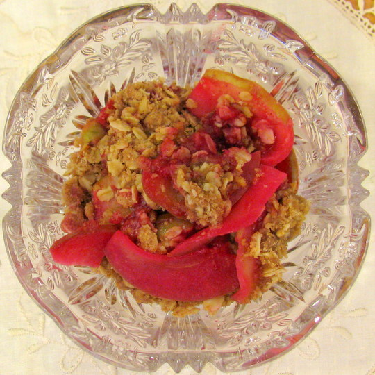 Prickly Pear Crumble