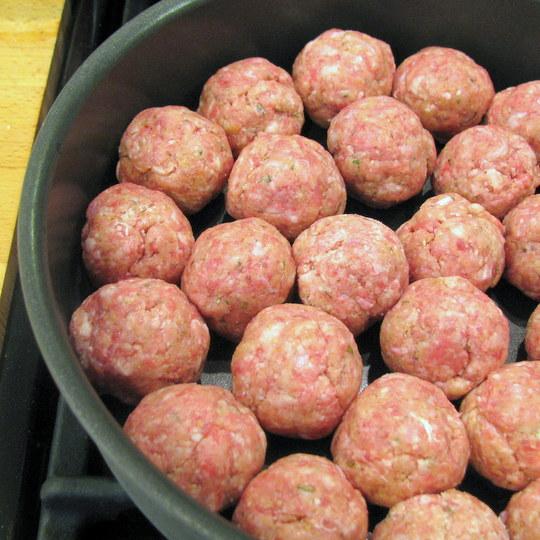 Italian Meatballs and Sauce