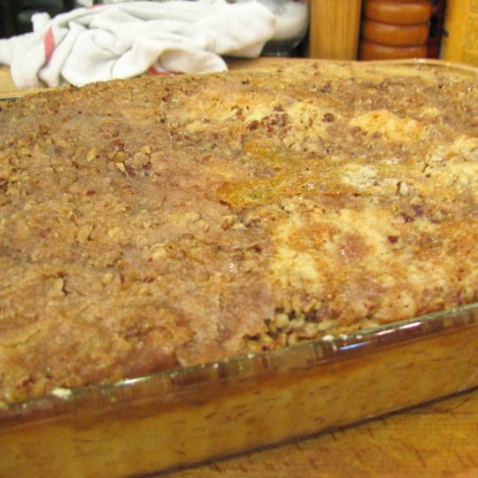 Pumpkin Pecan Dump Cake