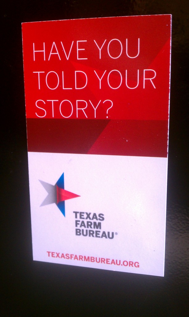 Have you told your story?