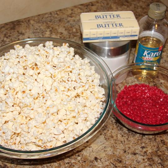 Red Hot Popcorn ingredients