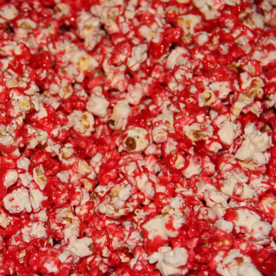 Red Hot Popcorn - almost ready!