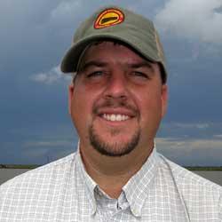 Texas family farmer Darrell Bowers