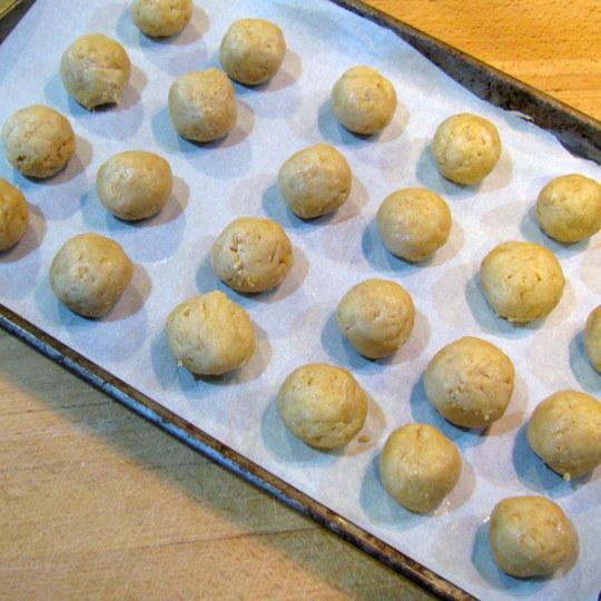 Golden Mint Truffles