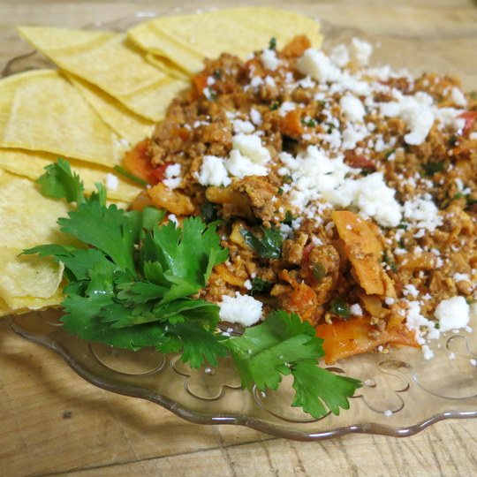 Tex-Mex Migas - Texas Farm Bureau - Table Top