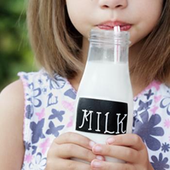 Calcium in milk does a body good