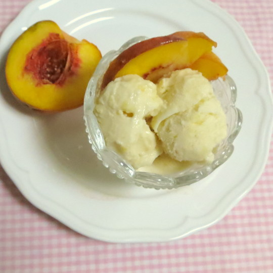Peachy Keen Ice Cream