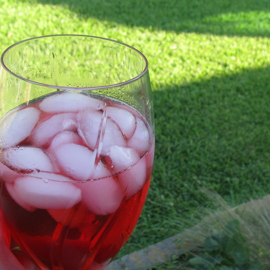 Blackberry Sun Tea