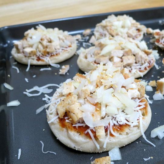 BBQ Chicken Pizza Pie