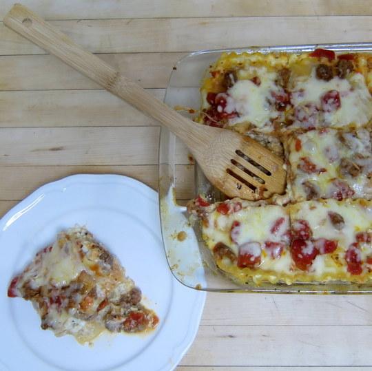 Four -Cheese Lasagna