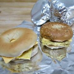 Bagel Breakfast Sandwiches