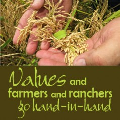 Values do matter to farmers and ranchers