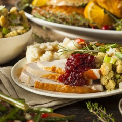What's the price of your Thanksgiving menu?