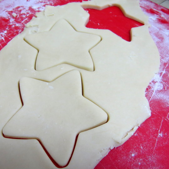 Shortbread Cutout Cookies