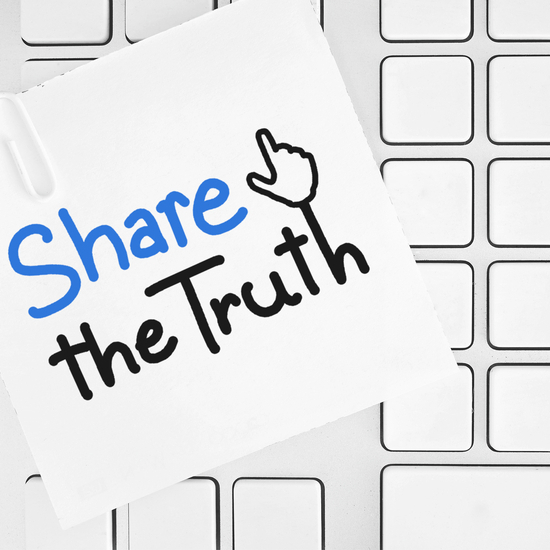 Share the truth art