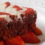 White Chocolate Red Velvet Brownie Recipe