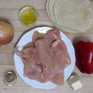 Skillet Chicken Quesadillas