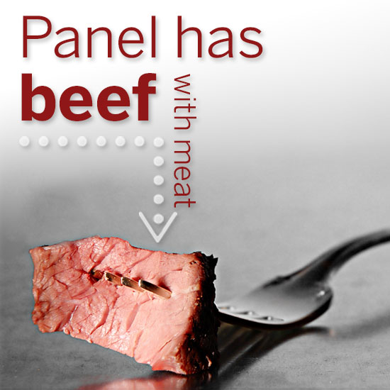 Texas Farm Bureau_Panel has beef with meat