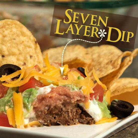 Seven Layer Dip