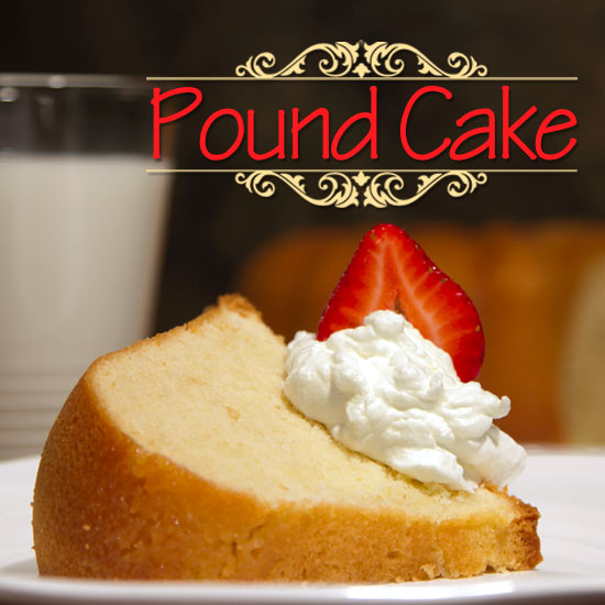 Pound of Butter Pound Cake