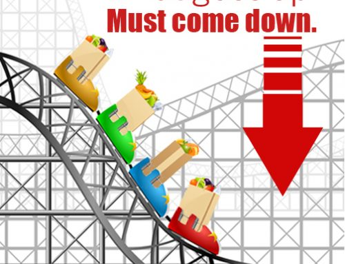 Food prices roller coaster