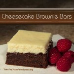 Cheesecake Brownie Bars